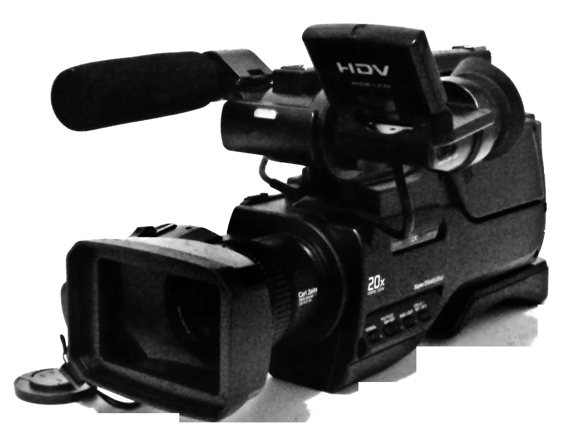Digital Video Camera PNG Image.