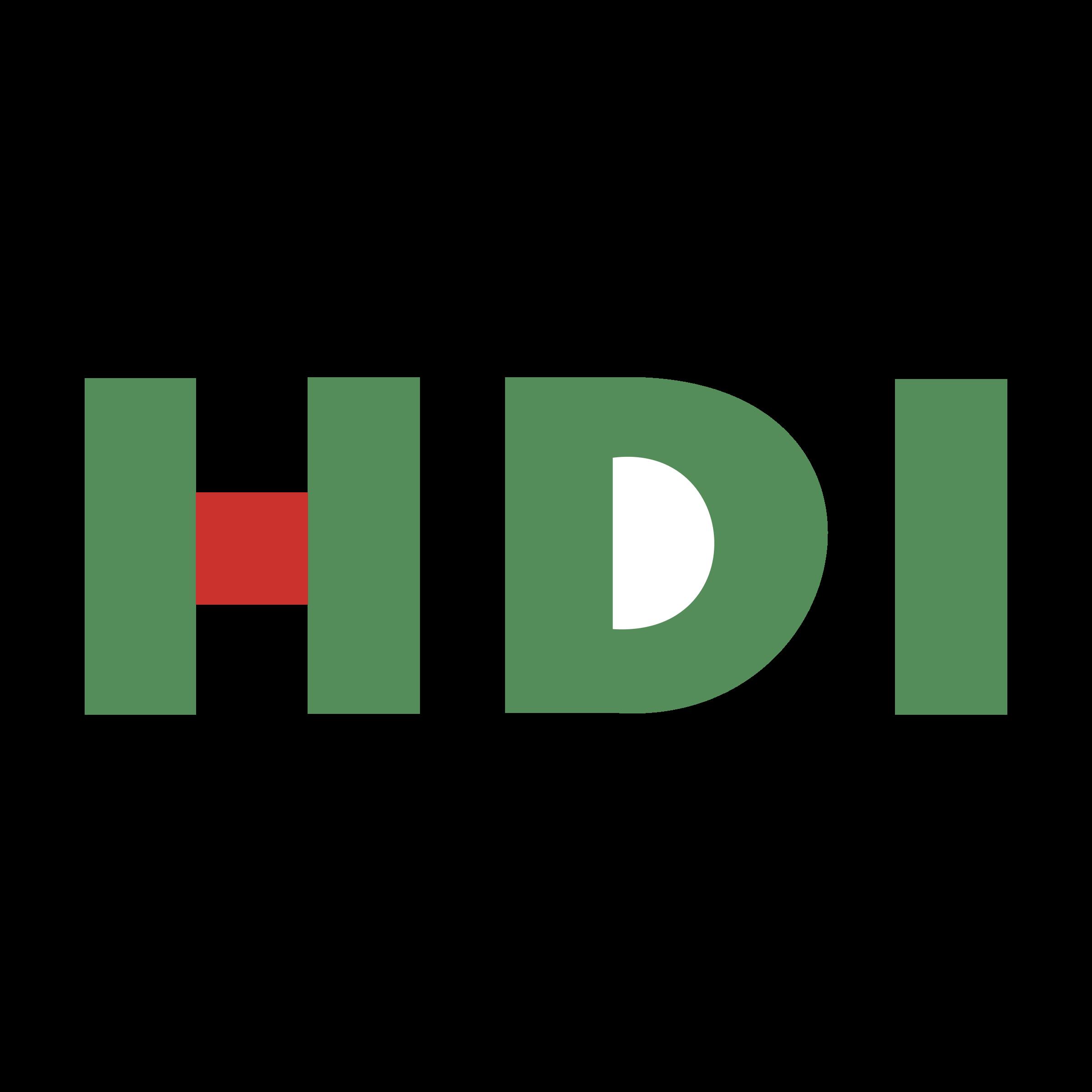 HDI Logo PNG Transparent & SVG Vector.