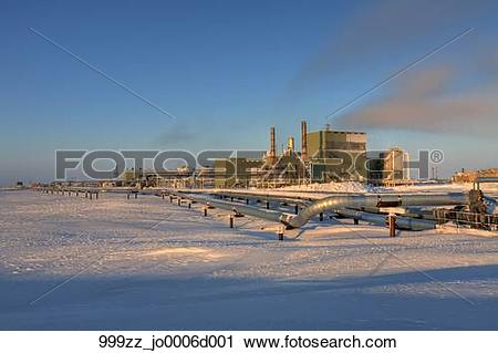 Stock Photography of View of Gathering Center 1 (GC1) and.
