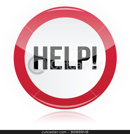 Help Signs Clipart.