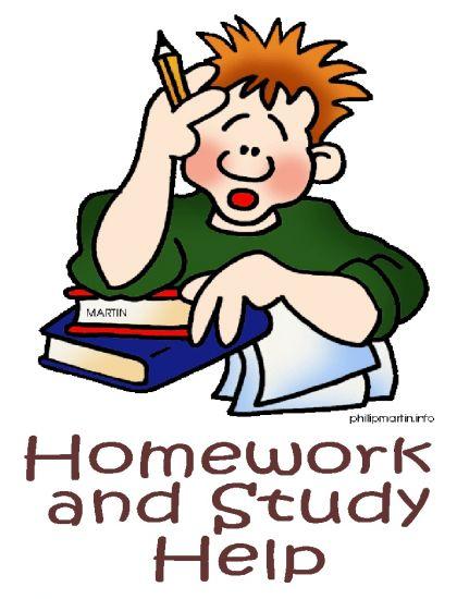 Homework help clipart.