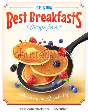 Pancake Stock Photos, Royalty.