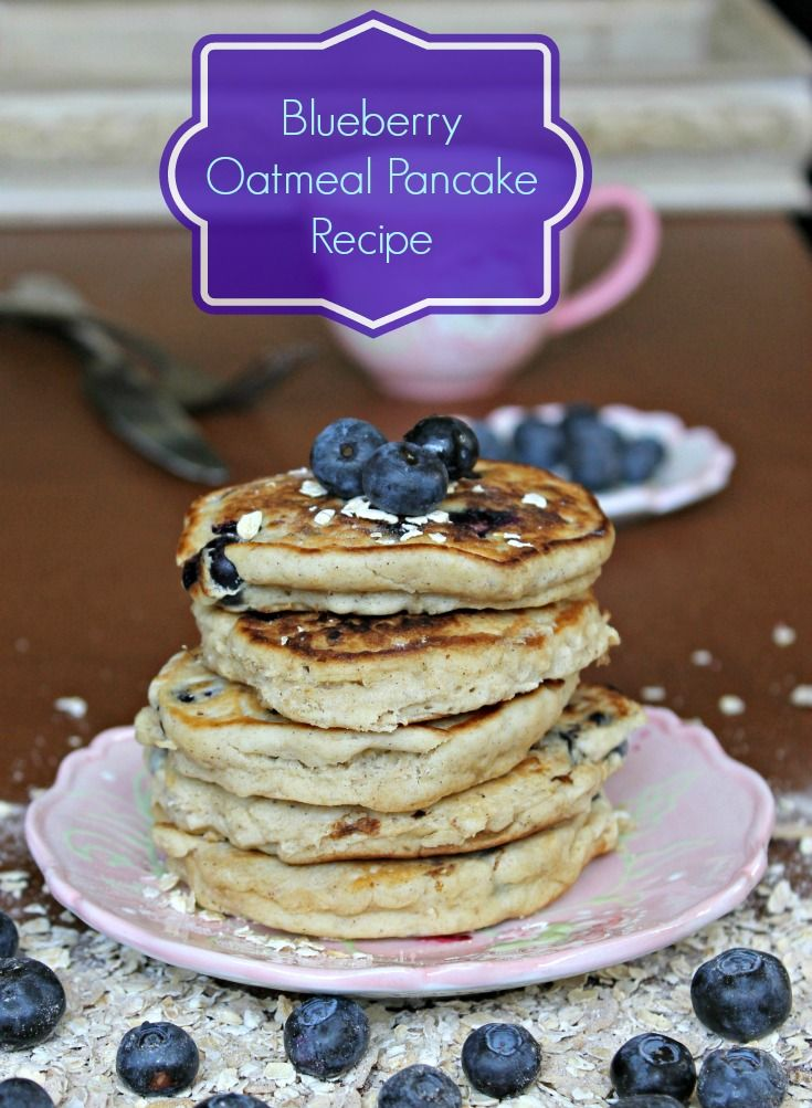 Blueberry Pancakes Clipart.