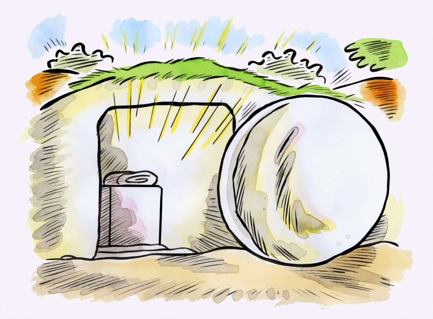 Easter B Sermon: Christ is risen!…he is risen indeed!.