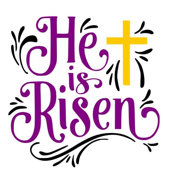 He is risen clipart 3 » Clipart Station.