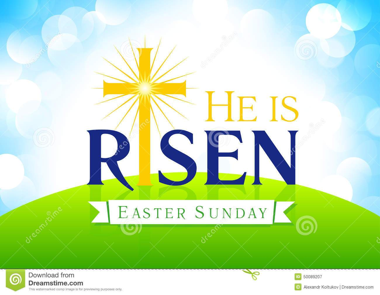 Free he is risen clipart 4 » Clipart Portal.