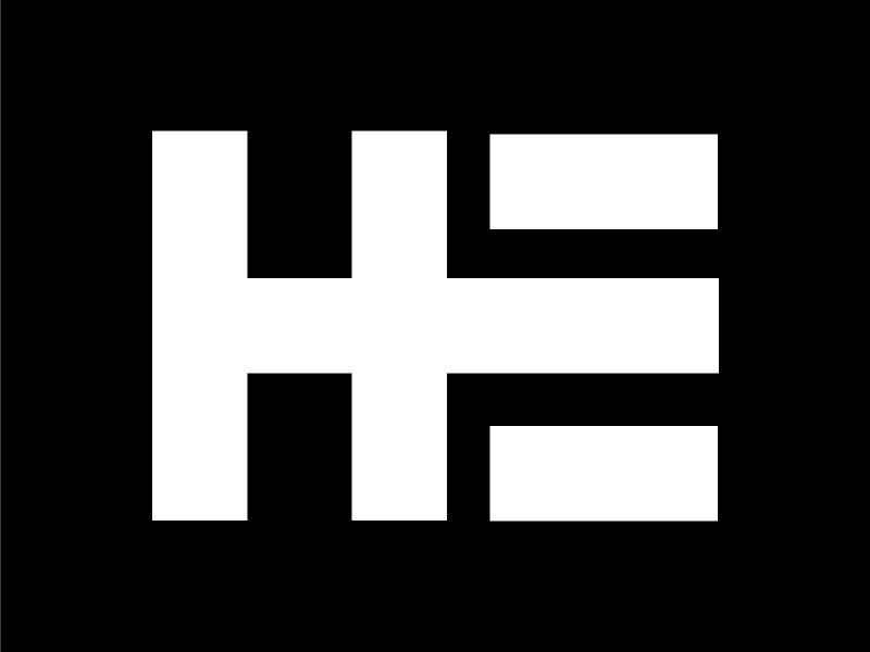 H.E. logo by Ashley Urunkar on Dribbble.