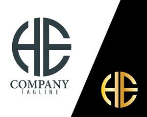 H E Logo stock photos and royalty.