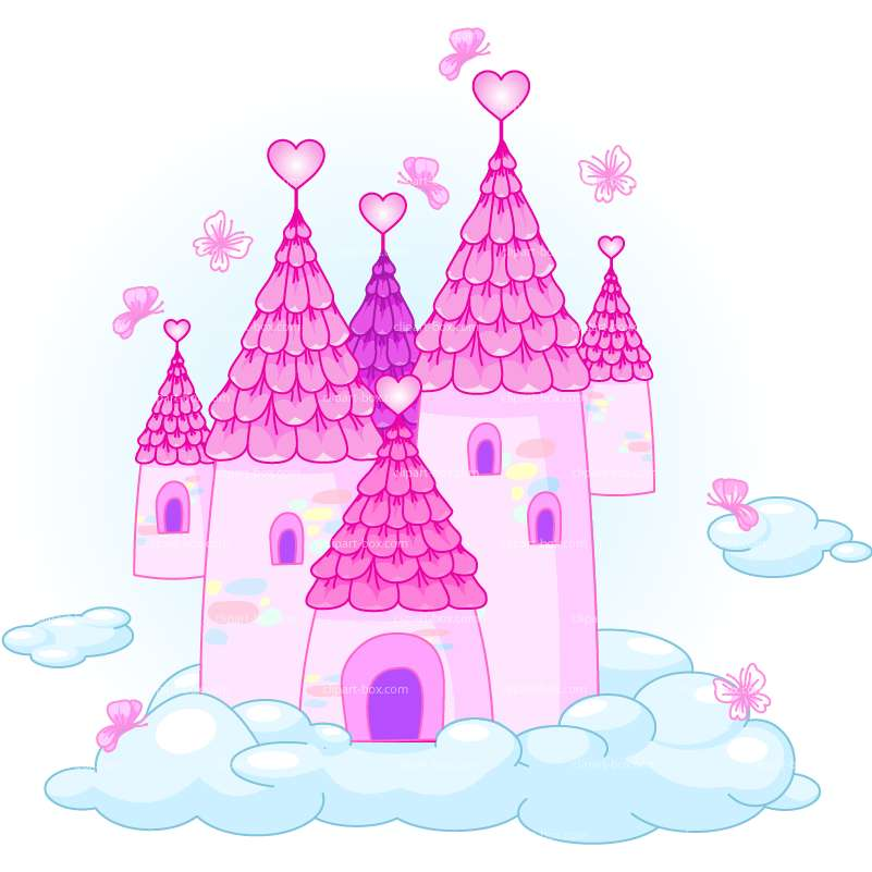 CLIPART LOVE CASTLE.