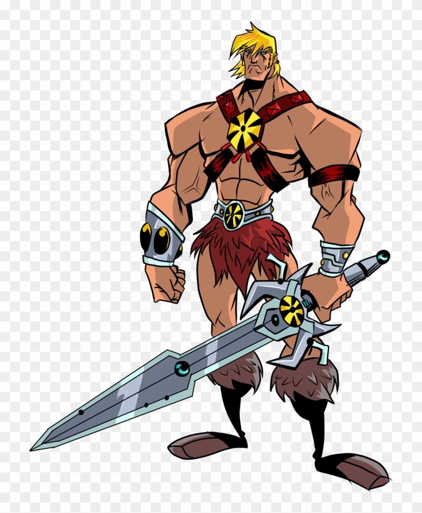 Clipart Sword He Man.