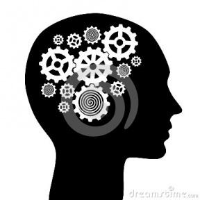 Human Brain Cartoon.