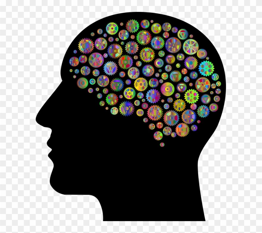 Head With Brain Clipart.