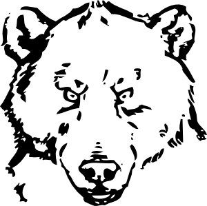 Bear Head Clip Art at Clker.com.