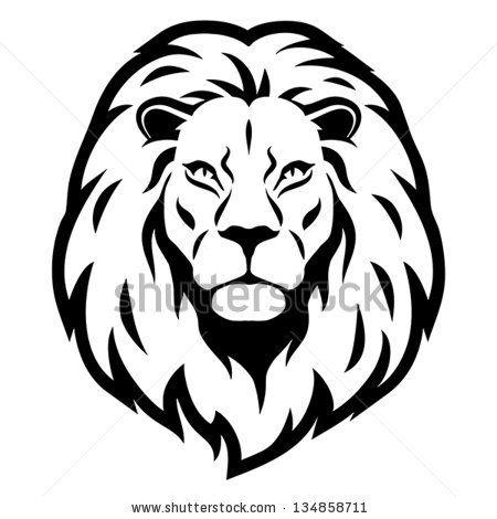 Lion Head Drawing.