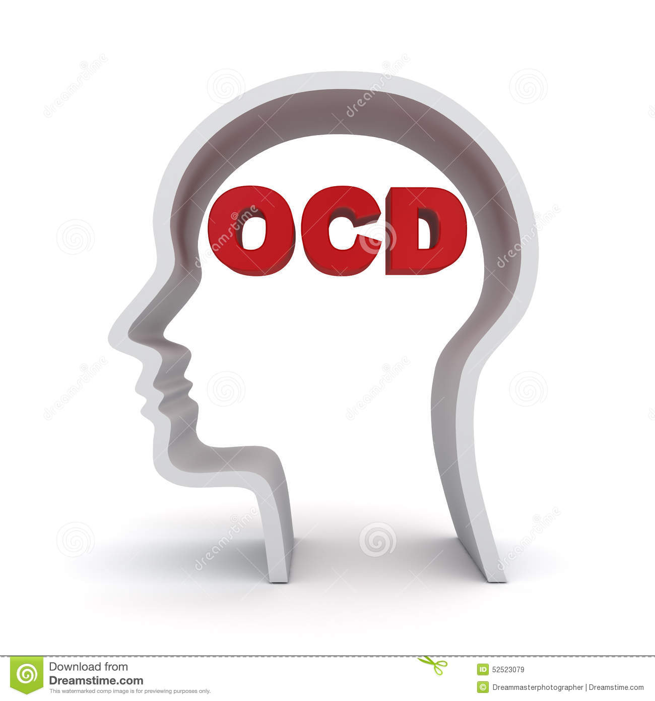 Ocd Stock Illustrations.