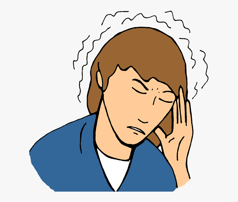 Head Hurting Clipart.