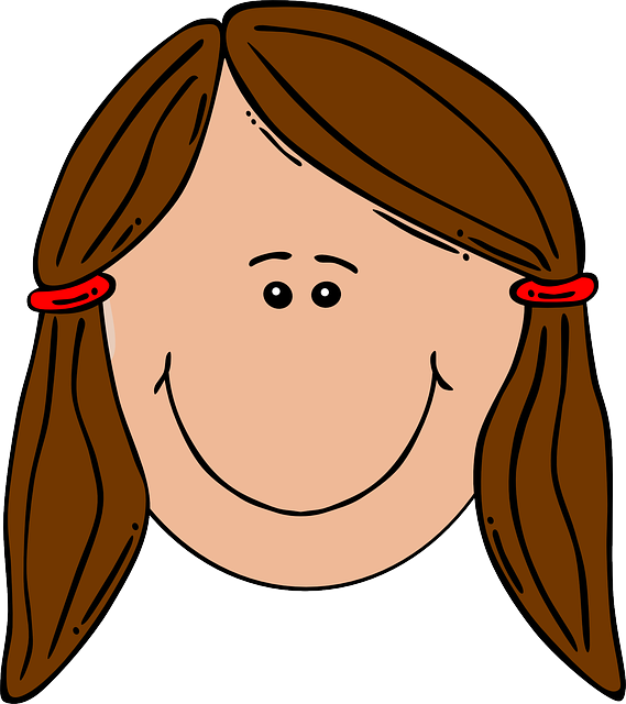 Free vector graphic: Girl, Head, Hair, Smile, Brown.