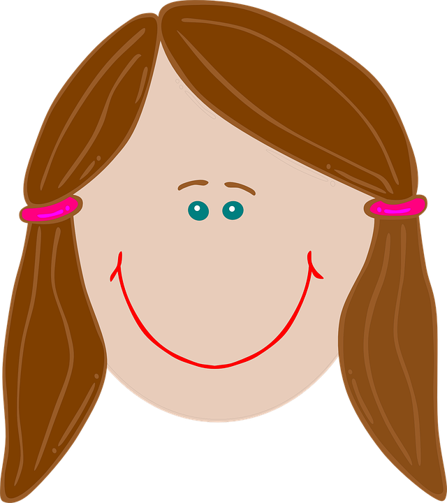 Free vector graphic: Happy, Girl, Brunette, Smiling.