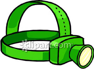 Green Headlamp.