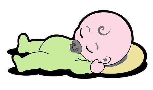 Sleeping Baby Cartoon.
