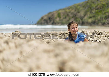 Stock Image of Australia, New South Wales, Byron Bay, Broken Head.
