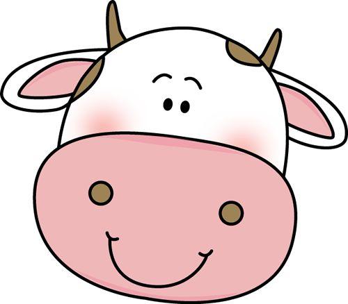 Cute Cow Clipart.