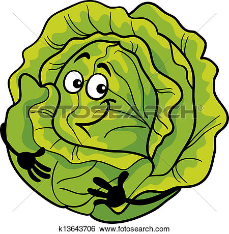 Head of lettuce clipart #13