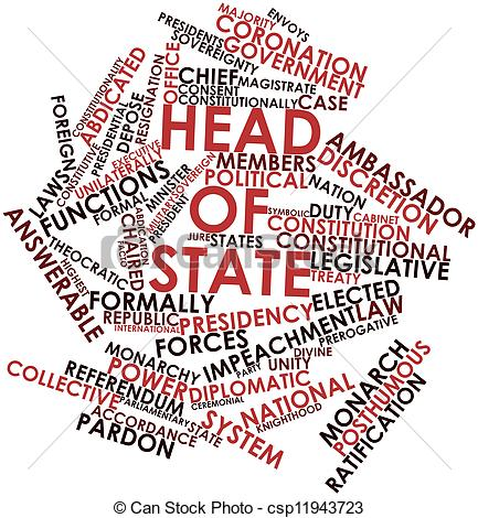 Clip Art of Head of state.