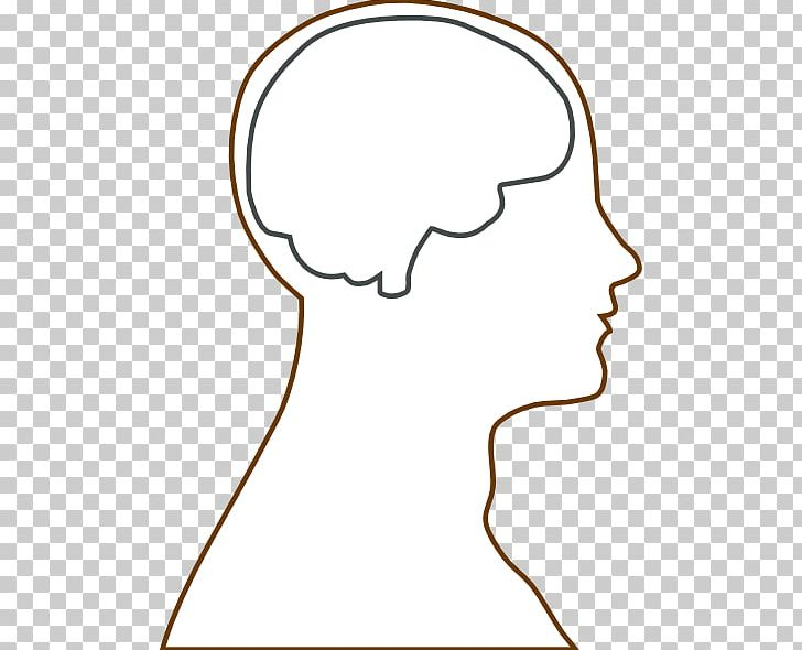 Outline Of The Human Brain Human Head PNG, Clipart, Anatomy, Area.
