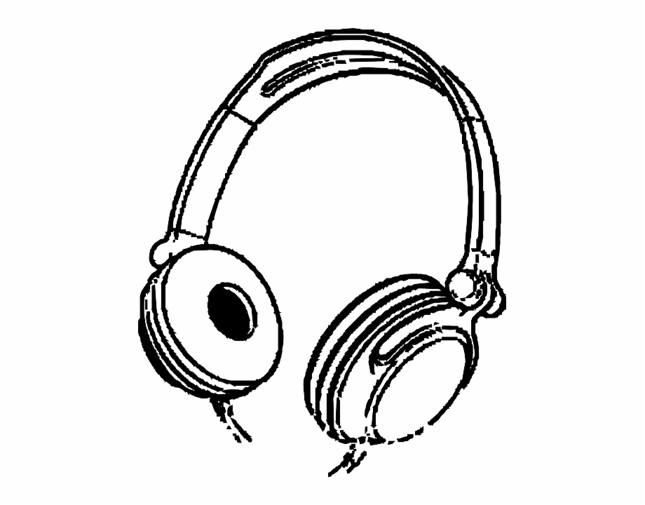 Headphone clipart ear phone, Headphone ear phone Transparent.