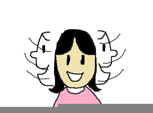 Shaking Head Clipart.