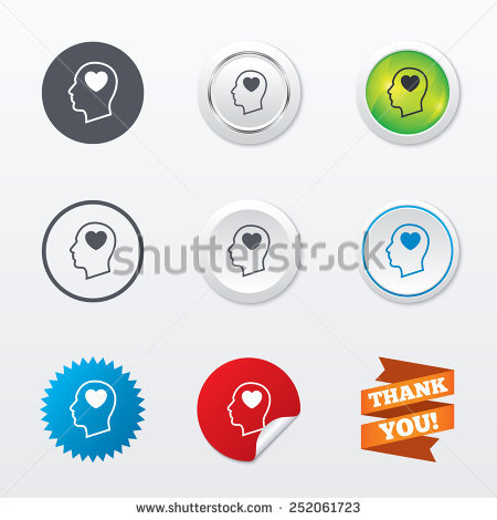 Head Heart Stock Vectors & Vector Clip Art.