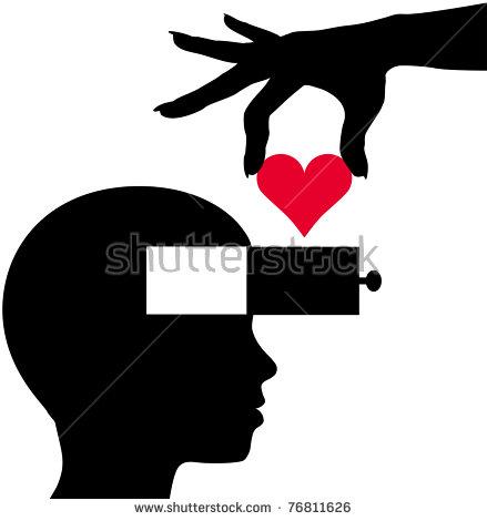 Head Heart Stock Vectors & Vector Clip Art.