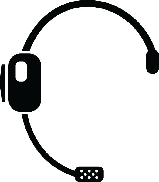 Headset Symbol Computer Clip Art For Custom Engraved Gifts.