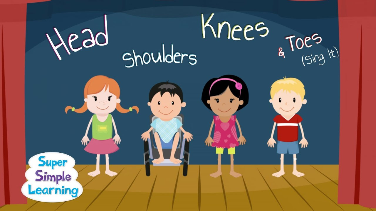Head Shoulders Knees & Toes (Sing It).
