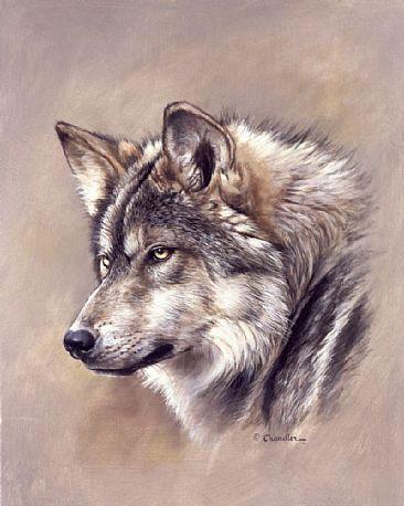 Wolf Head Art.