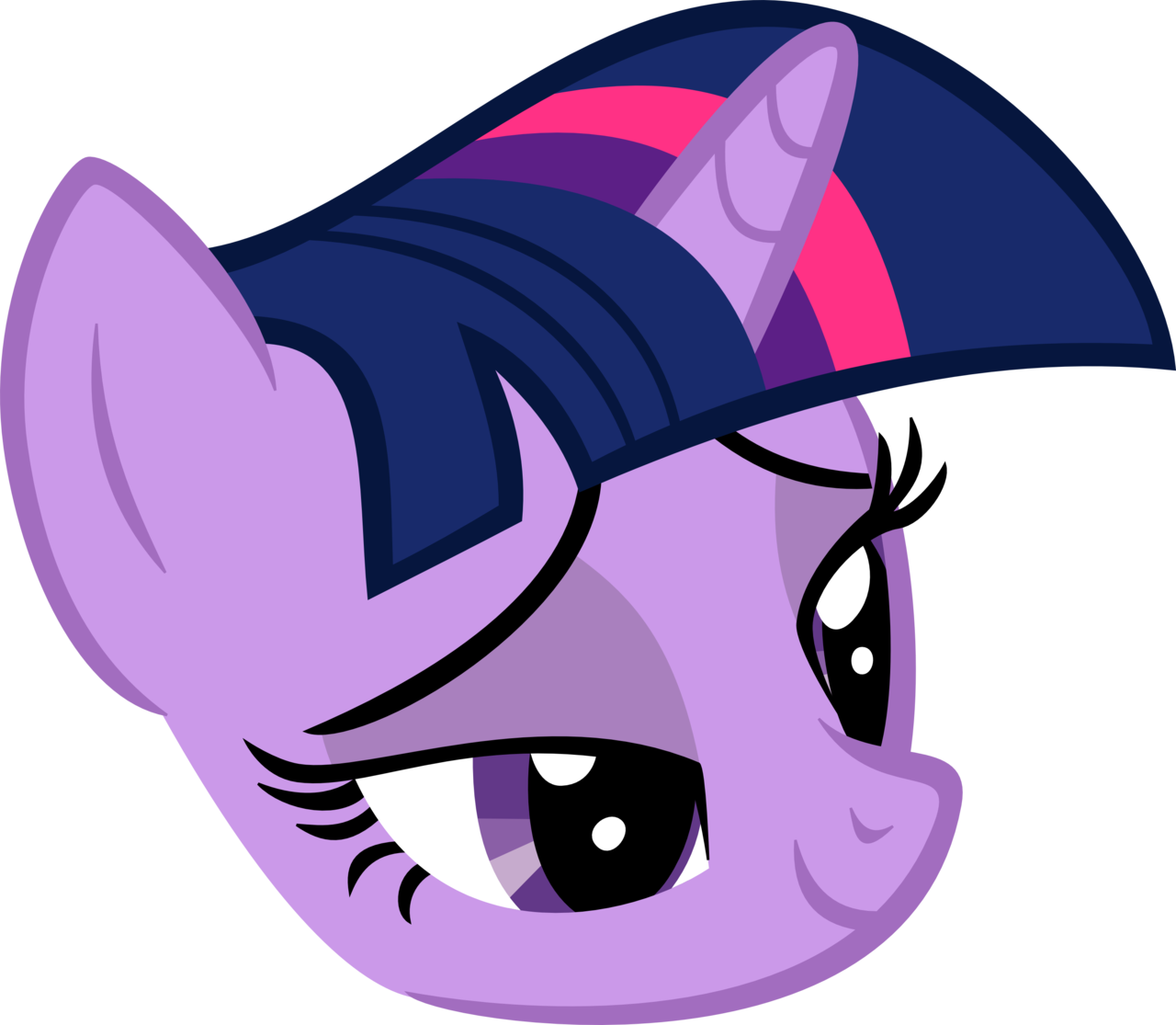 Twilight head by Droxtor on DeviantArt.