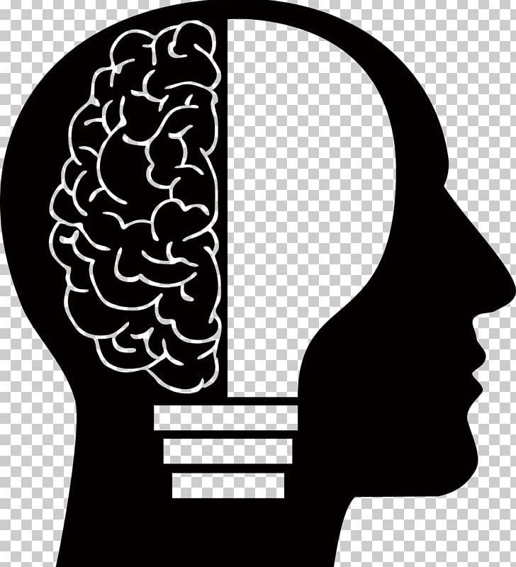 Human Brain Homo Sapiens Human Head PNG, Clipart, Anatomy, Black And.