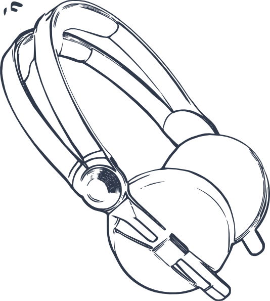 Headphones Clip Art at Clker.com.