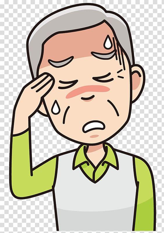 Headache Migraine , Headache transparent background PNG clipart.