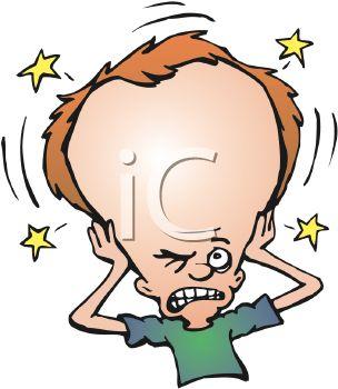 Headache clipart.