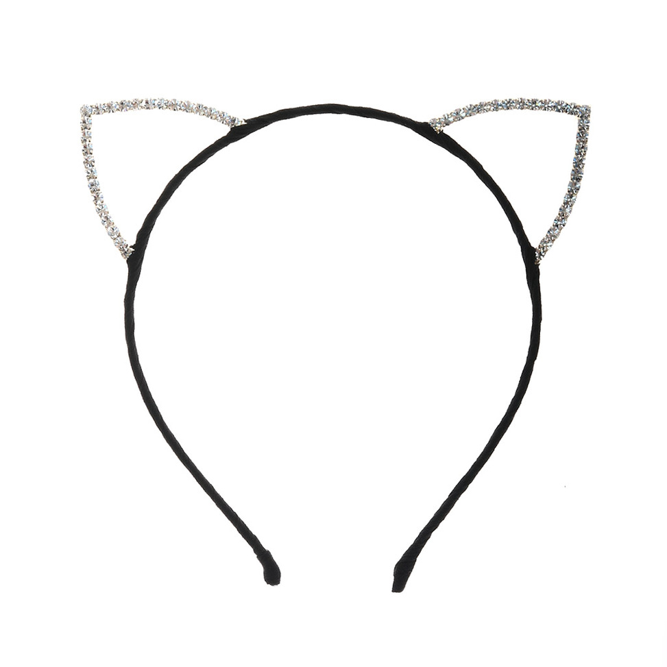 Black Woman Headband Clipart.