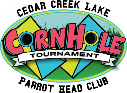 Cedar Creek Lake Parrot Head Corn Hole Tournament.