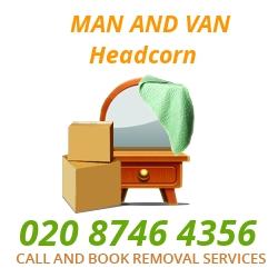 Man and Van Headcorn TN27.