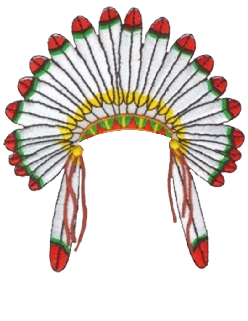 Head Dress Clip Art.