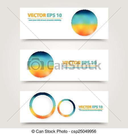 Flyer template header design..