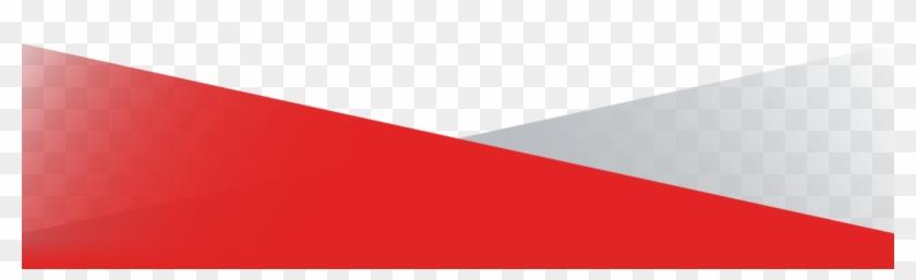 Red Gray Footer Header.