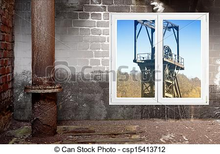 Clipart of head frame and window csp15413712.