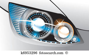 Headlight Clip Art Illustrations. 2,691 headlight clipart EPS.