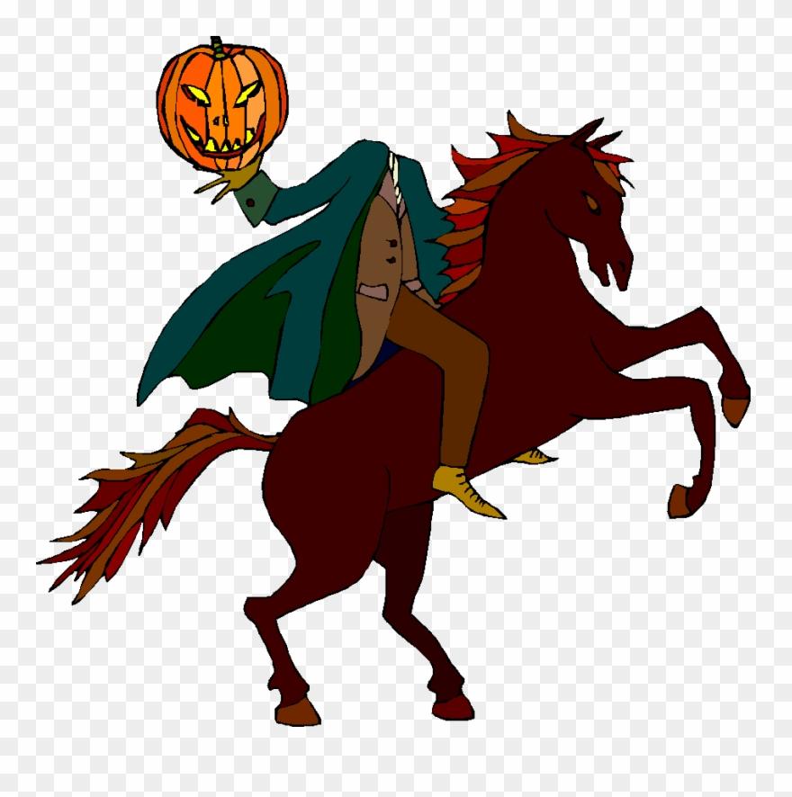 Headless Horseman Clipart.